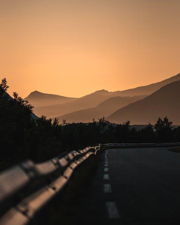 asfalt, cesta, diaľnica