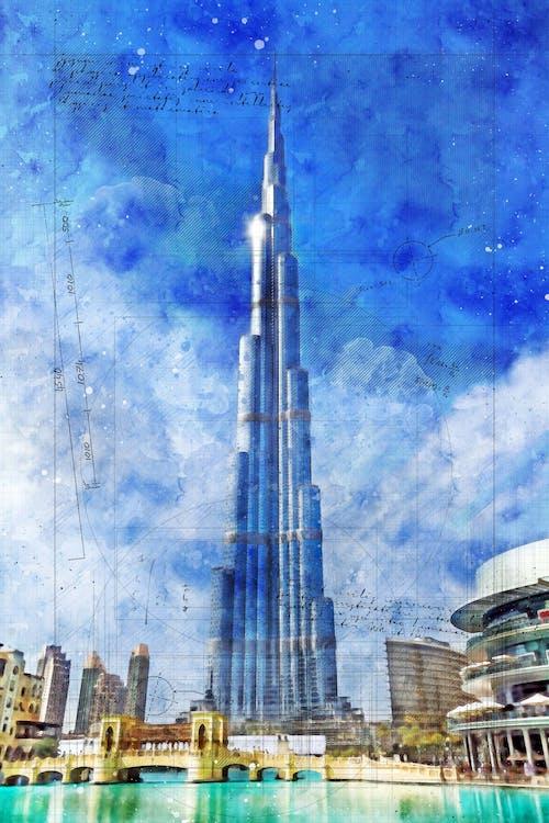 Free stock photo of architecture, dubai, modern architecture, skyscrapers