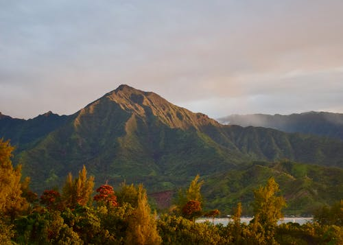 Foto stok gratis gunung mamaloa, hanalei, hawaii, kauai