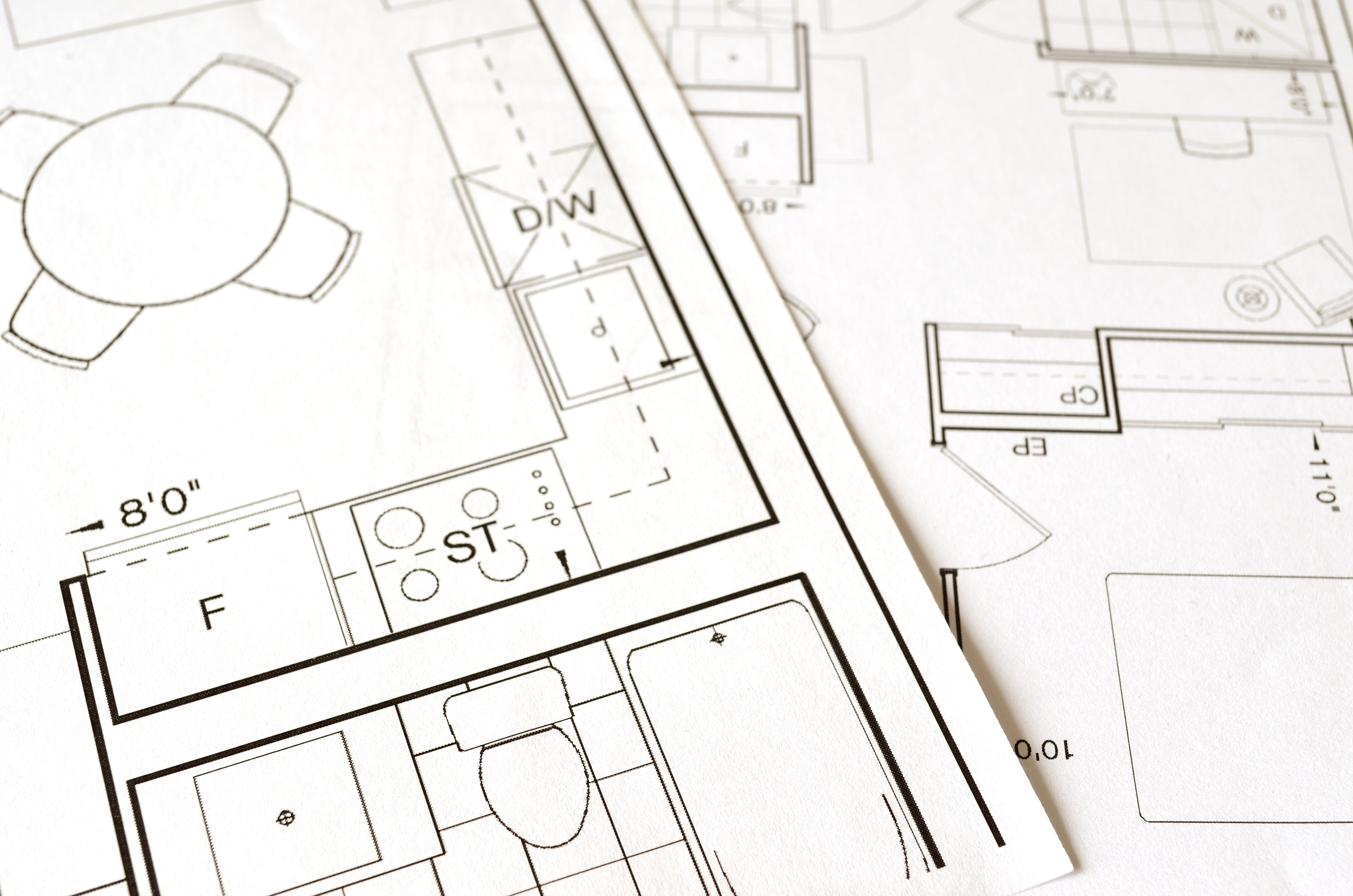 Free Stock Photo Of Architect Architecture Blueprint