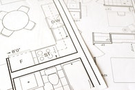 construction, architect, table