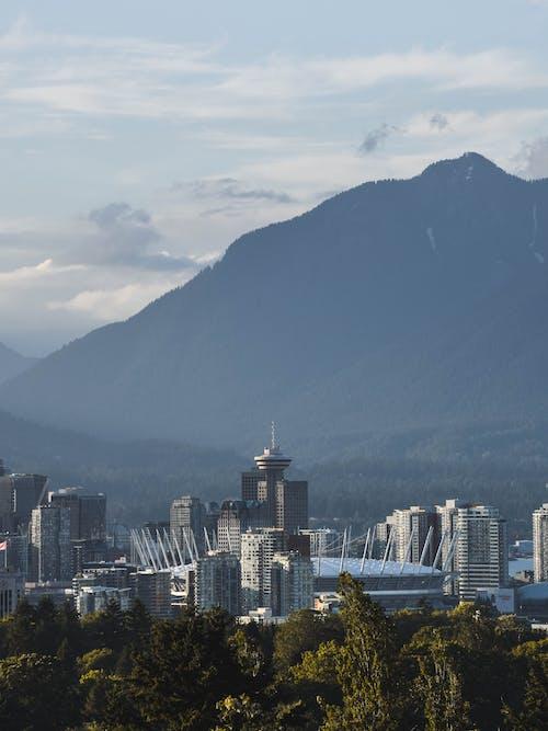 vancity, 加拿大, 在城市上空, 市中心 的 免費圖庫相片