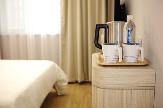 Free stock photo of wood, cup, water, hotel