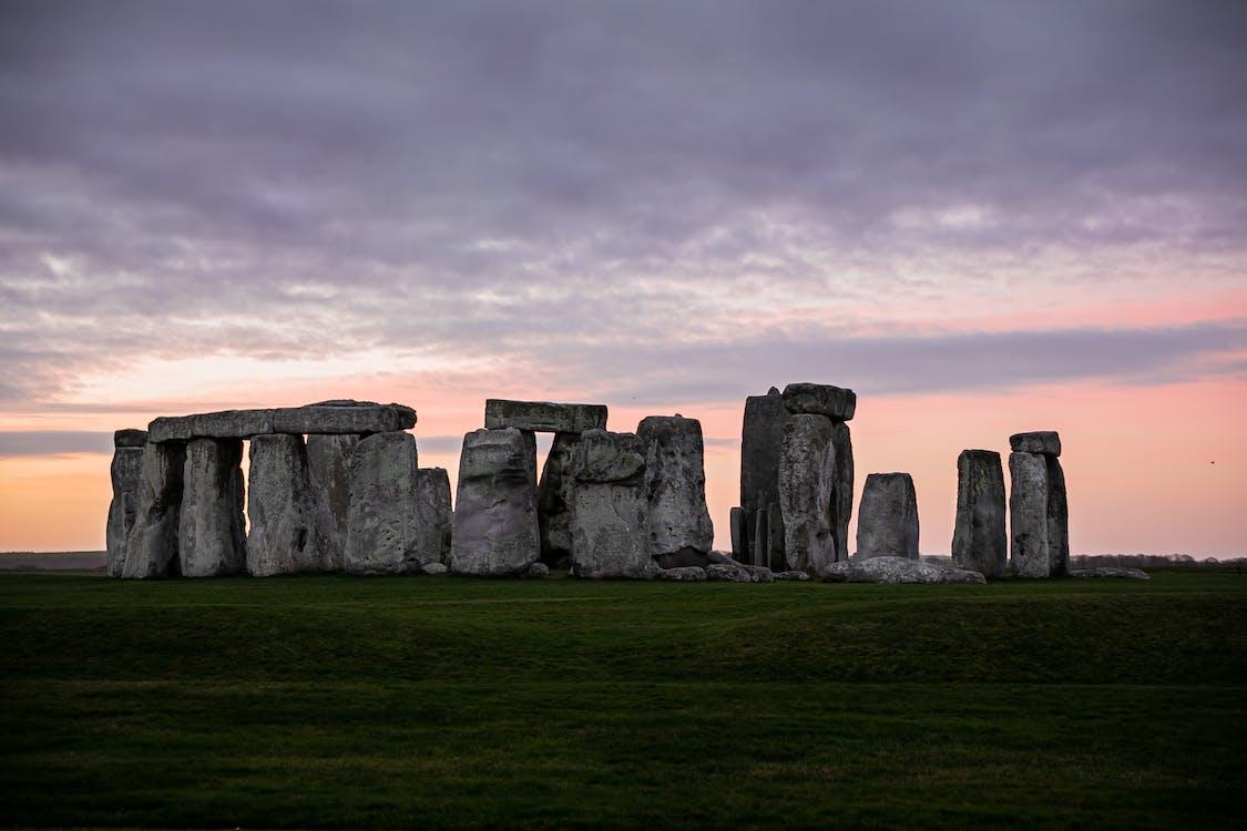 arkeologi, england, fält