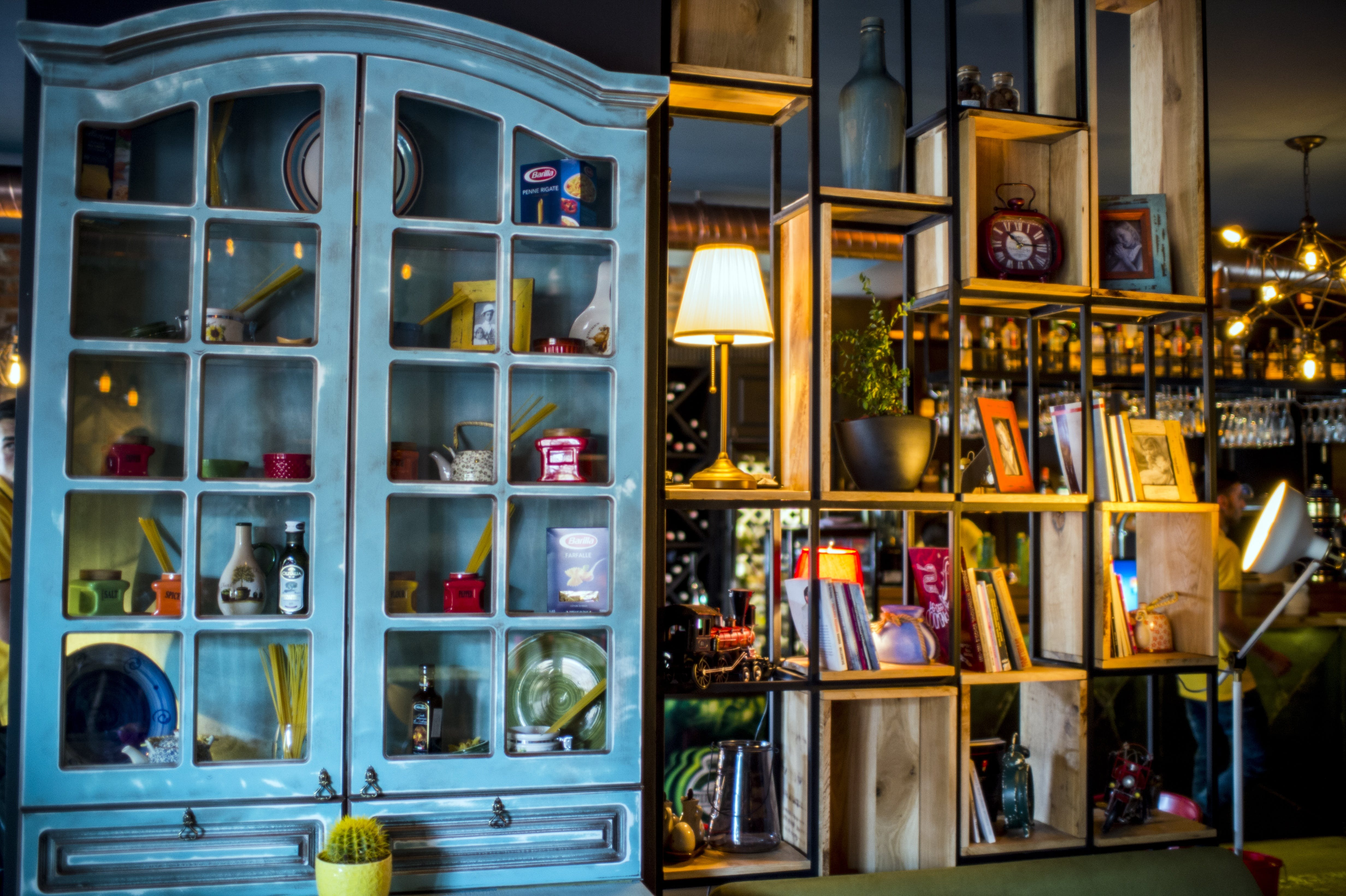 apartment, architecture, bookcase