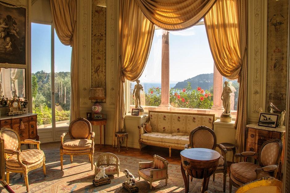 exhibition, room, rothschild villa