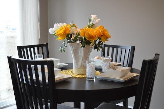 Free stock photo of wood, light, flowers, house