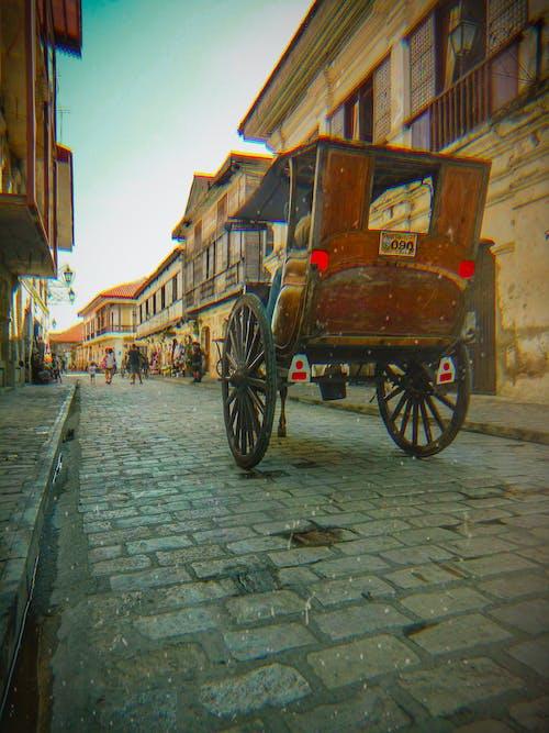 Foto profissional grátis de aldeia velha, cavalo, cidade velha, era espanhola