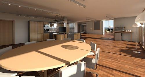 公寓, 地板, 天花板, 室內 的 免费素材照片