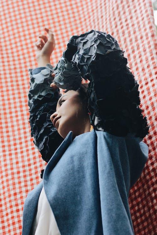 Low-Angle Photo of Woman Posing