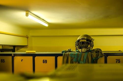 가벼운, 라커룸, 미식축구, 방의 무료 스톡 사진