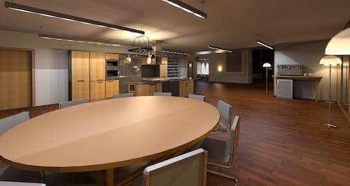 Kostnadsfri bild av arkitektur, golv, inredningsdesign, lampor