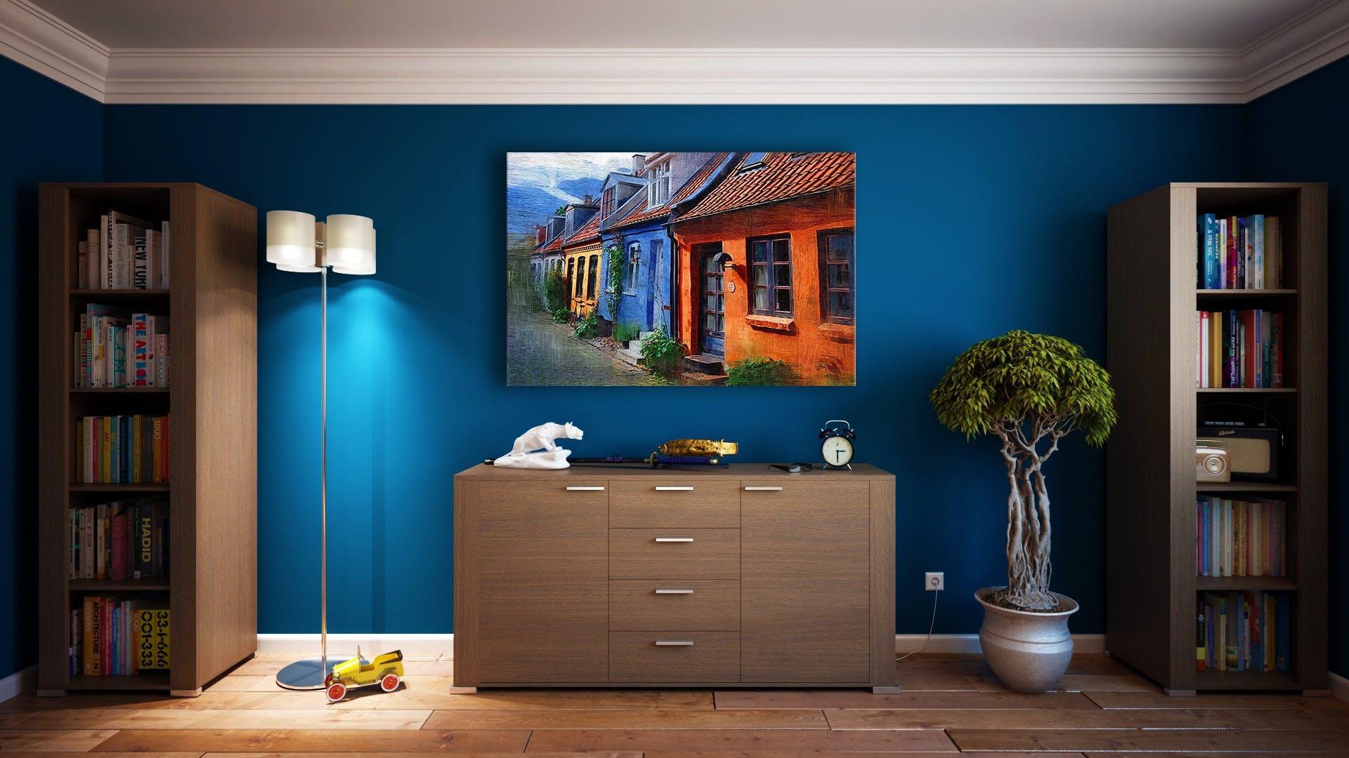 Kostenloses Stock Foto zu architektur, bücherregal, bücherregale, dekoration