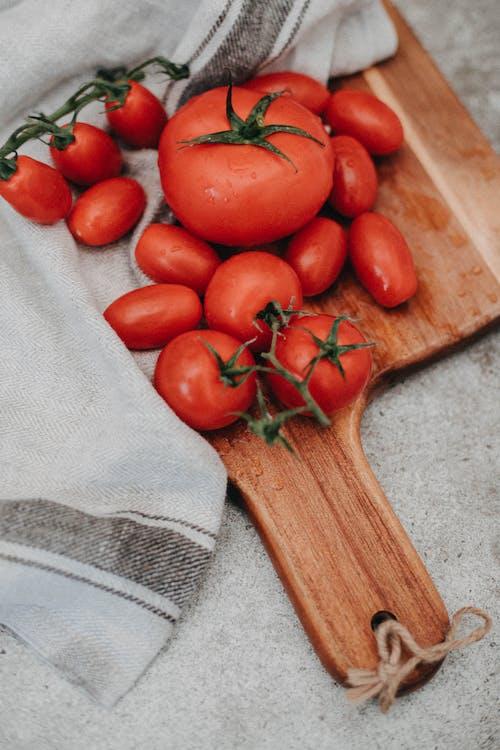 切菜板, 水果, 番茄, 食物 的 免费素材照片