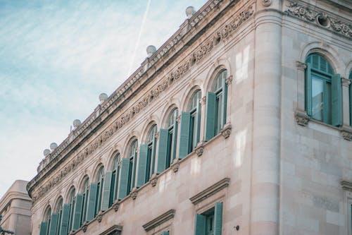 Foto stok gratis awan, bangunan, biru, cahaya