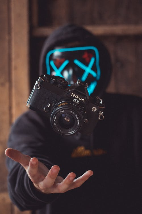 Black Nikon Dslr Camera