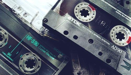 Gratis stockfoto met analoog, audio, bandjes, cassette