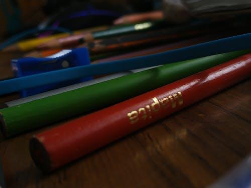 Gratis stockfoto met kleuren, kleurpotloden, tekenen