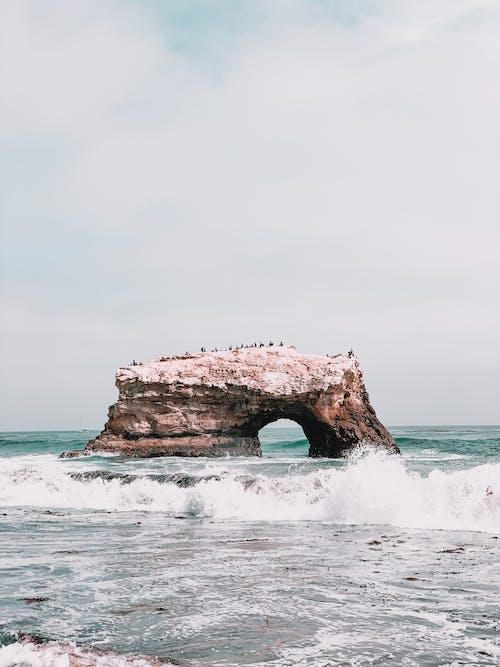 Free stock photo of beach, blue water, bridge, bridges