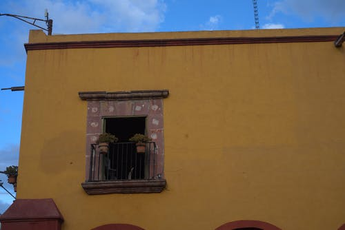 Free stock photo of architectural, colonial, yellow