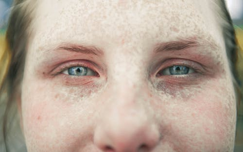 Foto stok gratis bintik, jiwa, mata, mata besar