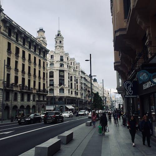 Immagine gratuita di autunno, madrid, strada, urbano