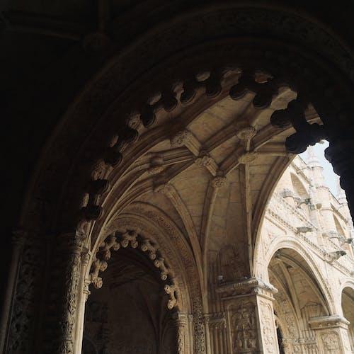 教堂建築, 漆黑, 里斯本, 陰暗 的 免費圖庫相片