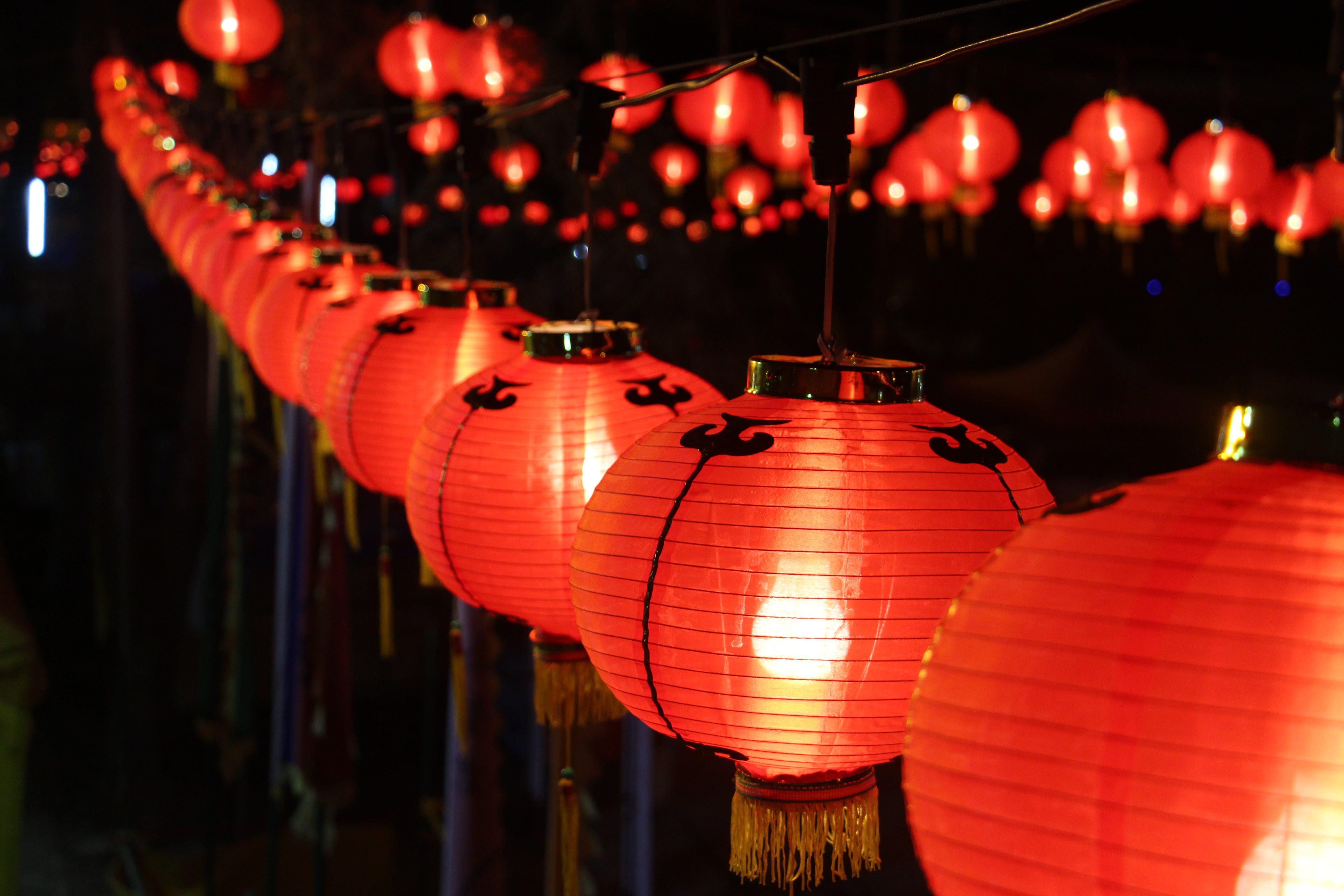 lanterns, lights
