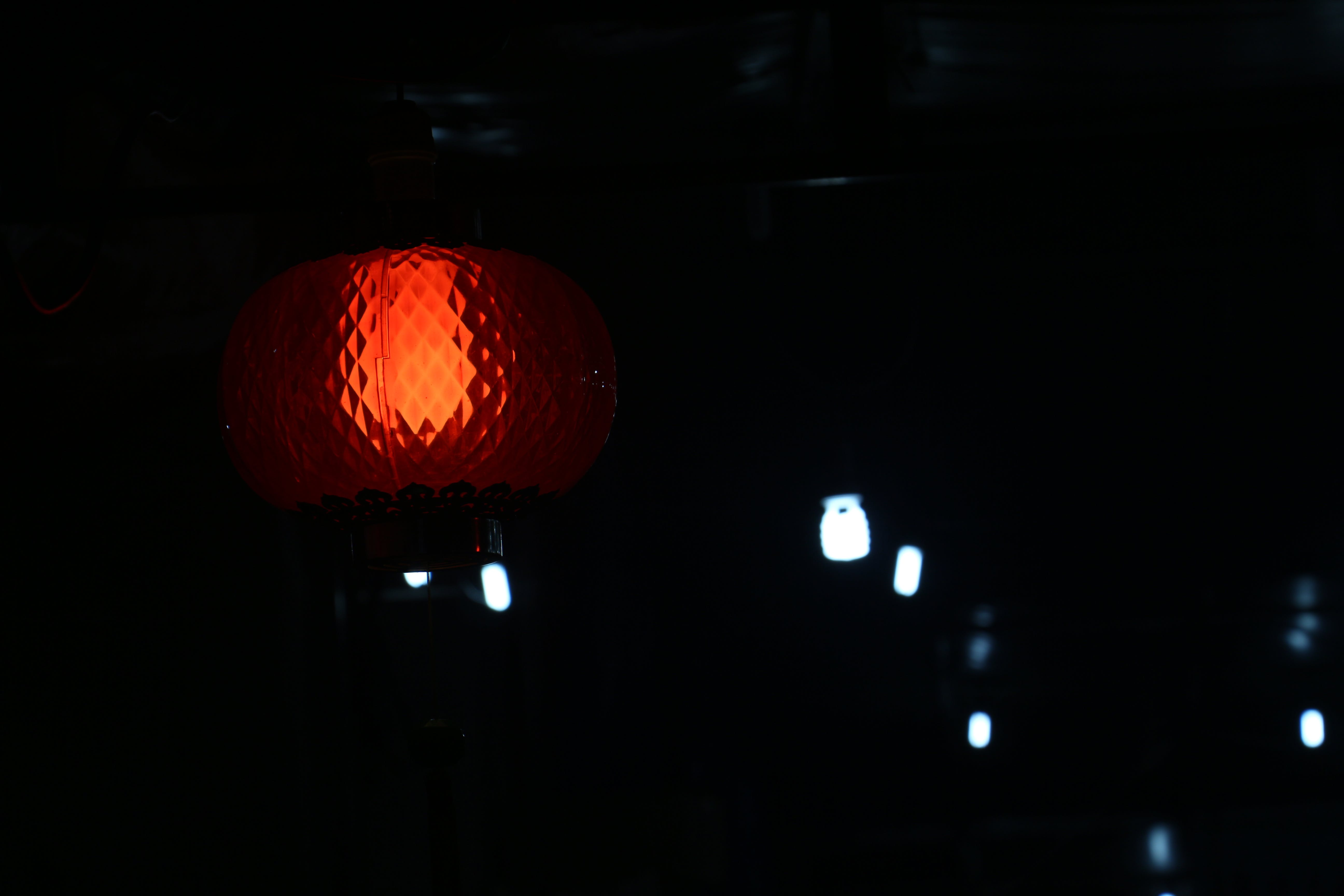 Free stock photo of lights, red