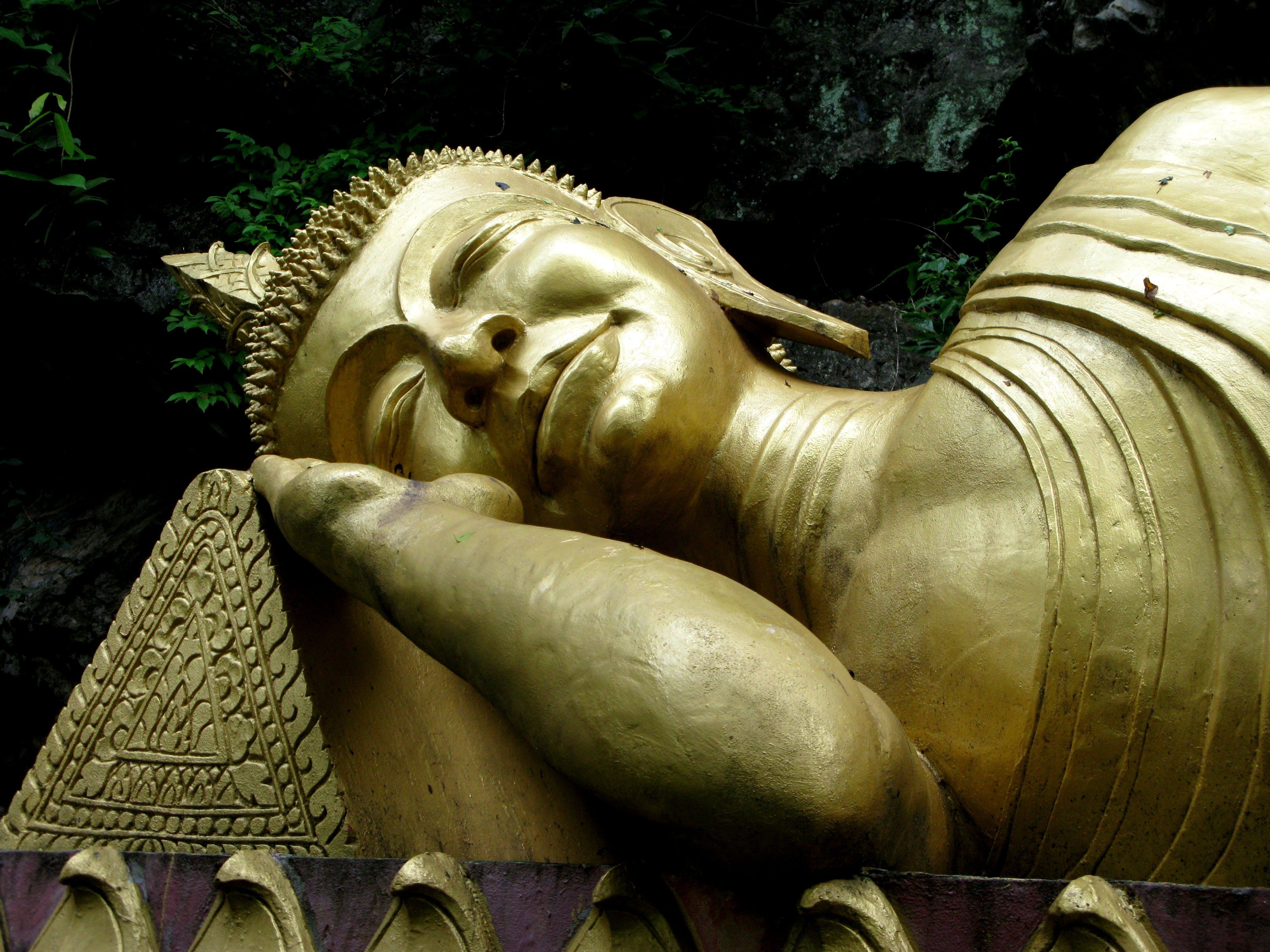 Free stock photo of gold, sleeping, buddha