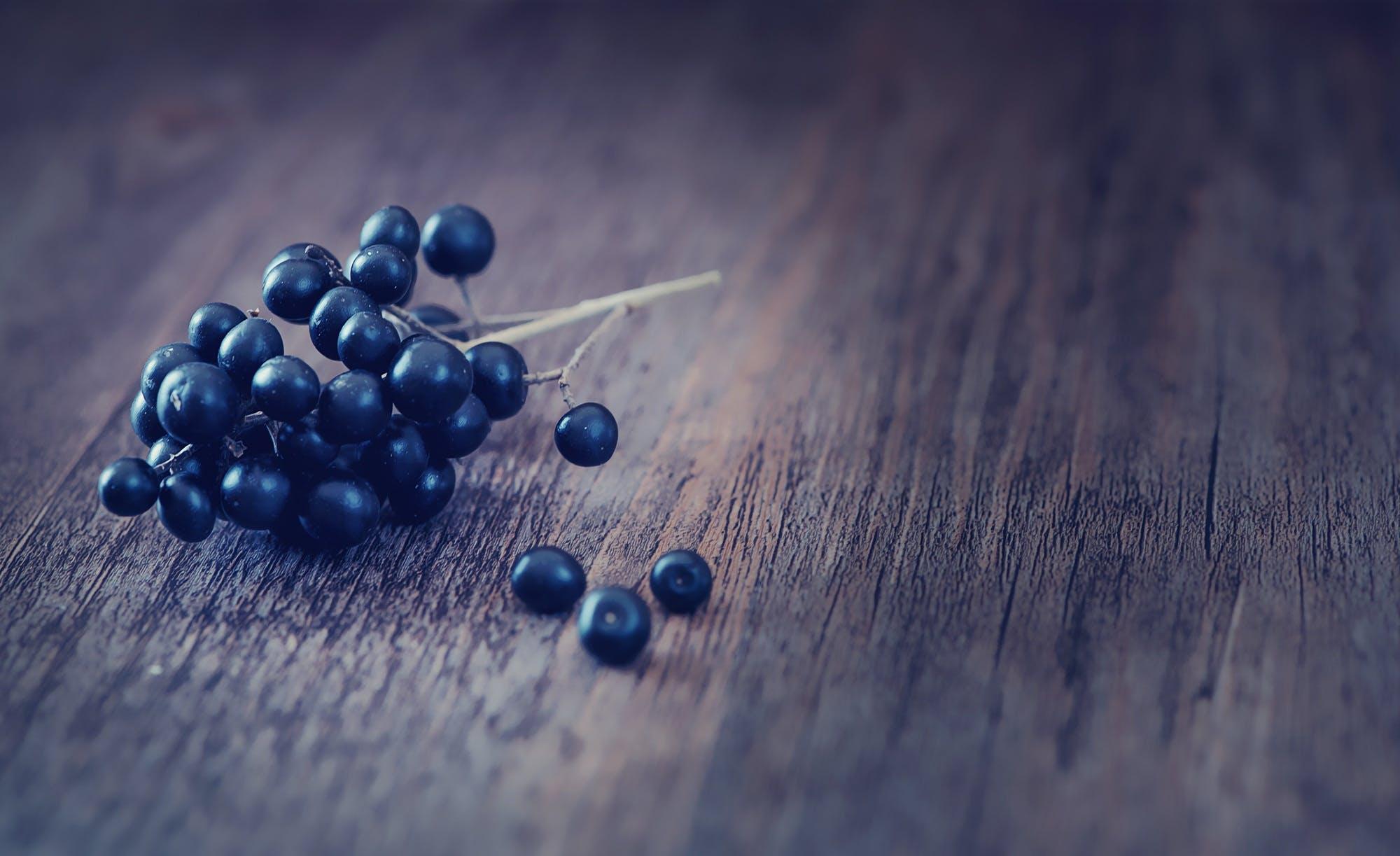 berries, blur, close-up