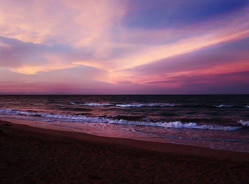 Free stock photo of beach view, sunset beach