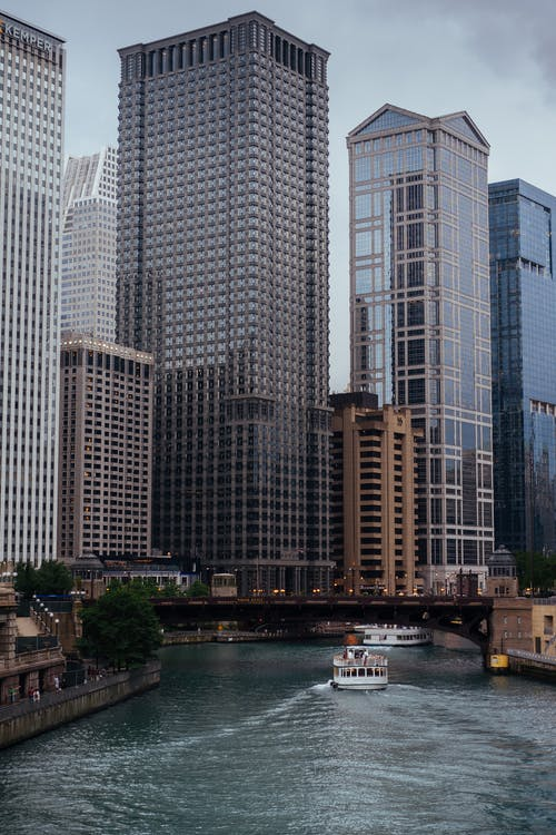 Free stock photo of chicago, chicago river