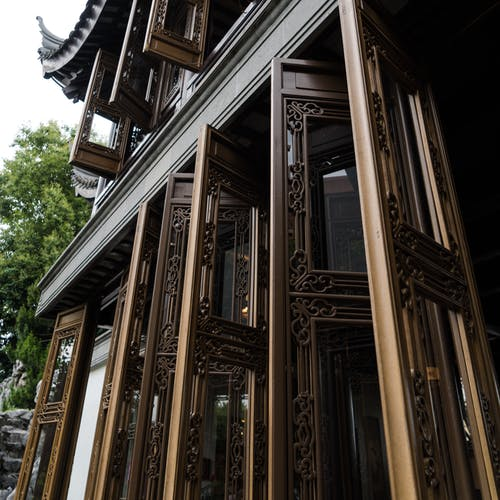 Free stock photo of architecture, Chinese, chinese garden, doors