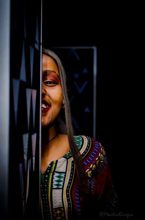 Free stock photo of african american girl, african dress, african women kitenge