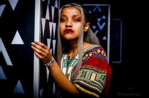 Gratis stockfoto met #models, afrikaanse jurk, afrikaanse vrouwen kitenge, afro-amerikaanse meid