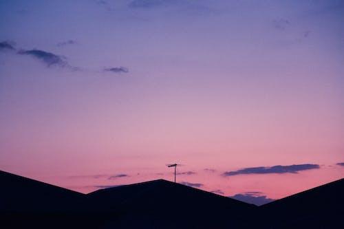 Základová fotografie zdarma na téma 4k tapeta, fialová, nádherný západ slunce, tapeta