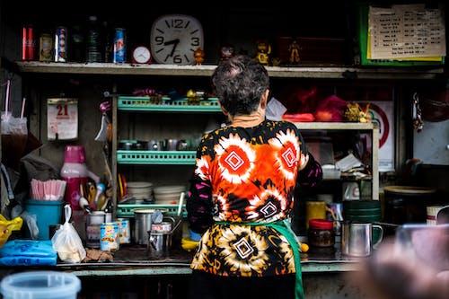 Free stock photo of busy, busy street, kuala lumpur, old woman
