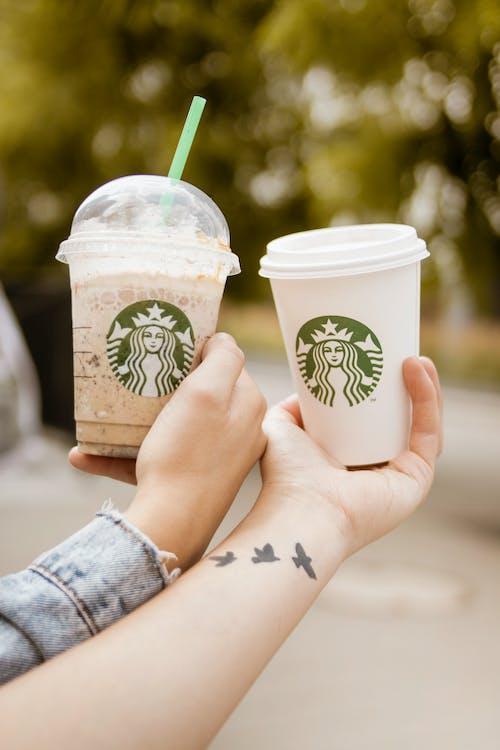 คลังภาพถ่ายฟรี ของ Starbucks, การแสดง, กาแฟ, ของว่าง