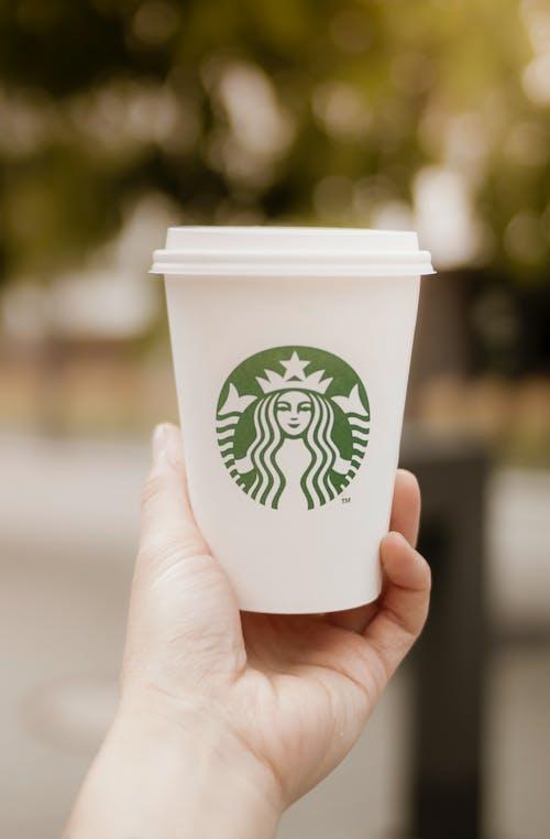 Δωρεάν στοκ φωτογραφιών με starbucks, γάλα, καφές, κούπα