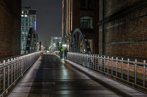 シティ, ダウンタウン, ビジネス, ブリッジの無料の写真素材