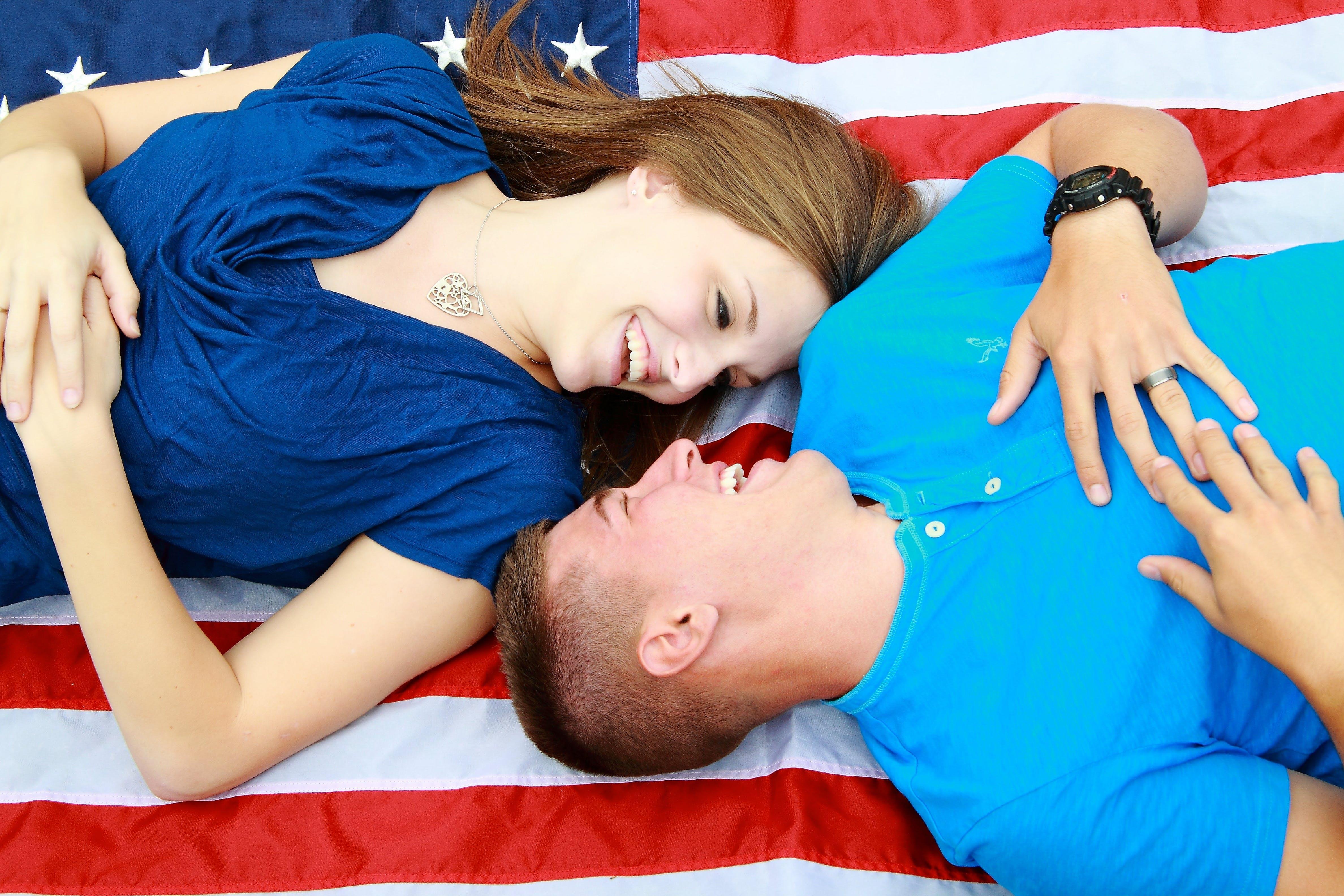 Free stock photo of romantic, relationship, military, romance