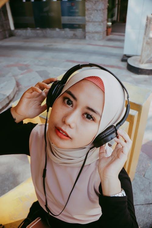 Ilmainen kuvapankkikuva tunnisteilla aasialainen, elegantti, hijab, ilme