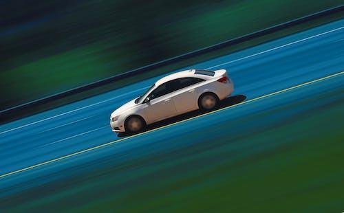 Ingyenes stockfotó johan bos fehér autóút sebessége témában