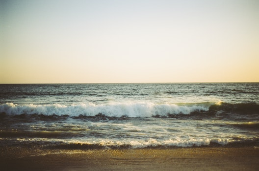 Kostenloses Stock Foto zu meer, strand, ozean, wellen