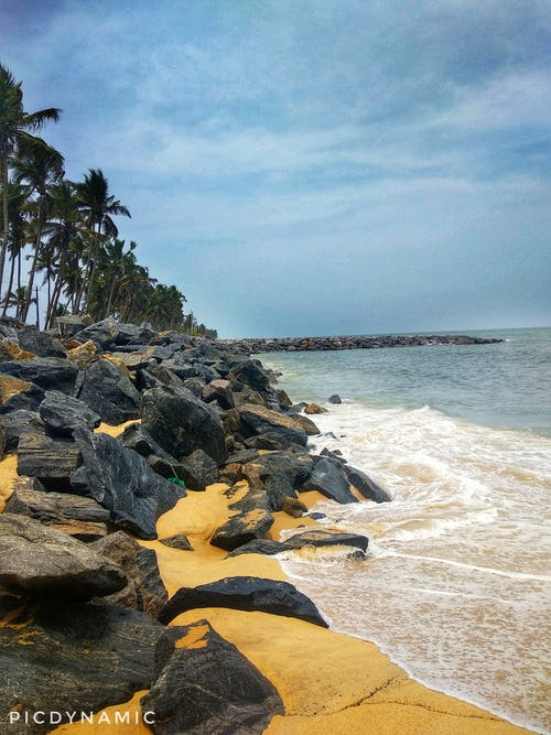Free stock photo of beach, india, karnataka, nature