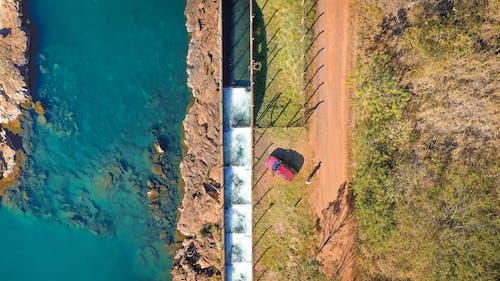 Imagine de stoc gratuită din apă, arbori, automobil, copaci