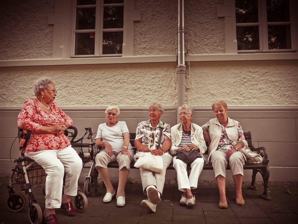 Kostnadsfri bild av ålder, äldre, avslappning