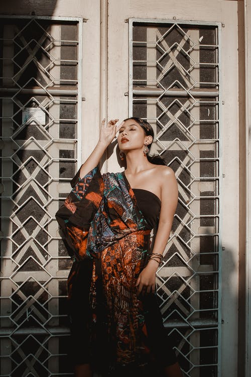 Ingyenes stockfotó ázsiai lány, ázsiai nő, csukott szem, divat témában