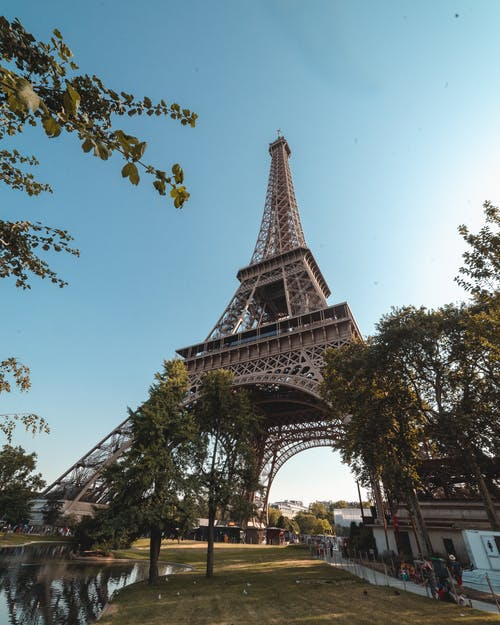 Low-angle Photography of Eiffel Tower